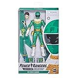 Figura de acción Coleccionable Premium de 15cm de Zeo IV Green Ranger de Power Rangers Lightning Collection con Accesorios
