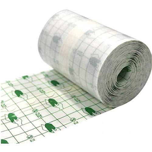 Uayasily Medizinischer Wundverband Fixer Wasserdicht Transparent Film Roll Heftpflaster Stretch Fixation Tape Nachbetreuung Verband Anti-allergie-self-Paste 15cmx10m