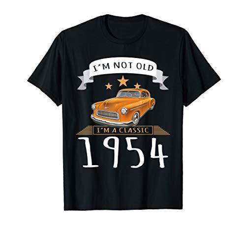 Ich bin nicht alt, ich bin ein klassischer 1954er Oldtimer T-Shirt