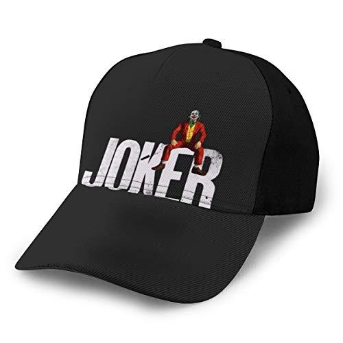 N/ Joker Sitting On Name - Gorra de béisbol clásica color negro