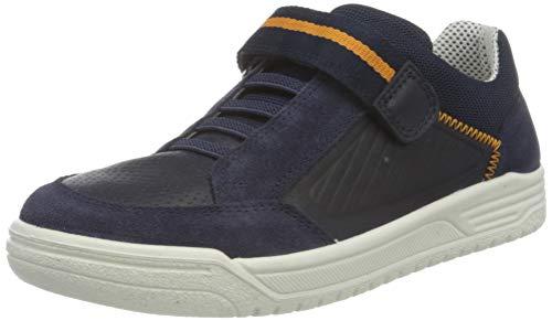 Superfit Jungen Earth Sneaker, Blau Orange 8000, 31 EU Weit