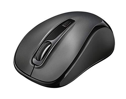 Trust Siero Stille Draadloze Muis Mouse, Zwart