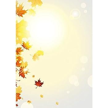 100 Blatt DIN A4 Motivpapier Designpapier gelb ANGEBOT für Angebote