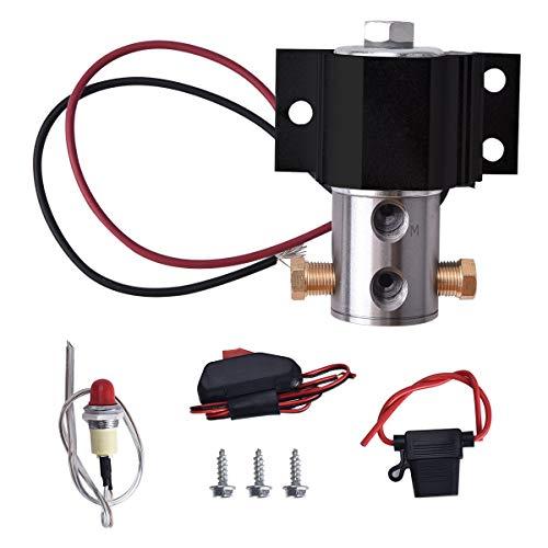 BDFHYK Line Lock Roll Control Electric Brake Line Lock Kit Black