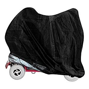 vtarp ® Heavy Duty Mobility Scooter Storage Rain Cover Waterproof Disability (147cm (L) x 71cm (W) x 140cm (H))
