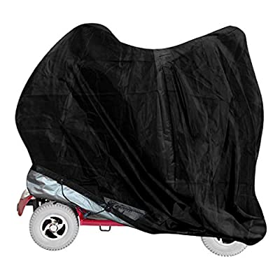 vtarp ® Heavy Duty Mobility Scooter Storage Rain Cover Waterproof Disability (147cm (L) x 71cm (W) x 140cm (H))