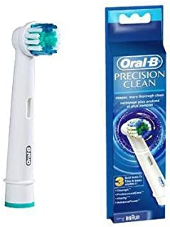 New Procter And Gamble Oral B Precision Clean Refills Replacement Electric Toothbrush Head 3 Count