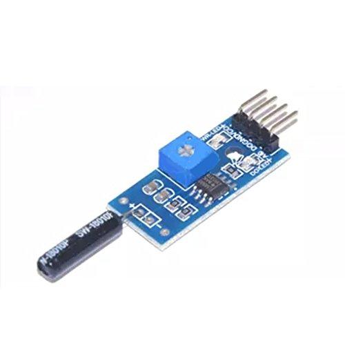 Bobury Módulo de la alarma del interruptor de la vibración del módulo del sensor de la vibración 1PC para el arduino