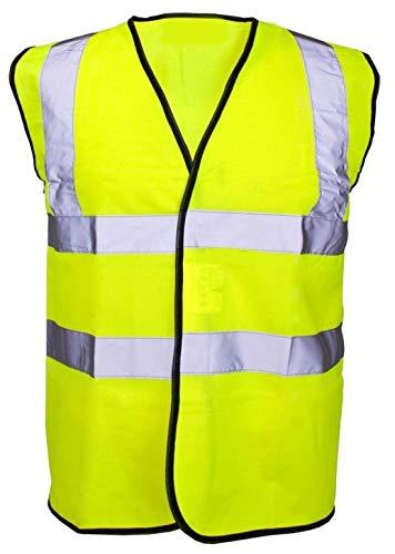 REAL LIFE FASHION LTD. Heren Hi Vis Hoge Zichtbaarheid Taillejas Vrouwen Reflecterende Workwear Safety Vest Top