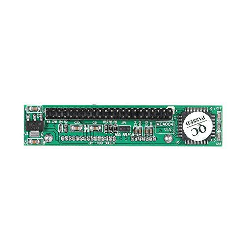 pedkit Adaptador SATA a IDE de 2,5 Pulgadas y 2,5 Pulgadas Compatible con Unidad de Disco Duro ATA HDD o convertidor de Puerto SSD a Macho de 44 Pines (Tipo Vertical)