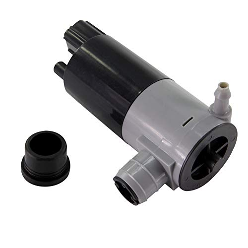 Price comparison product image TAMKKEN 05103452AA 8-6736 55077241AA 05011807AB Front Rear Windshield Washer Pump Compatible with Dodge Ford Jeep Lincoln Mercury SRT