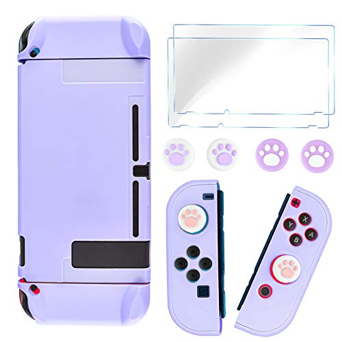 DLseego Switch - Funda Protectora Completa para Nintendo Switch Joy-con con Protector...