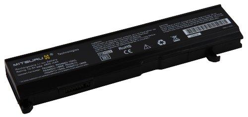 4600mAh Mitsuru Batterie de Remplacement Ordinateur Portable Compatible avec Toshiba Satellite A80 A85 A100 A105 M70 Satellite Pro M70 Dynabook TW, remplace PABAS069 PA3465U-1BAS PA3465U-1BRS