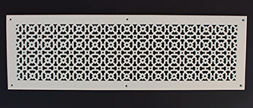 """Achteck 10""""x 30"""" Duct opening Solid Cast Aluminum Air Return Grill Vent Cover 