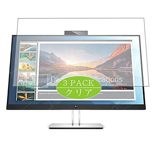 Vaxson - Protector de pantalla compatible con HP E27d QHD de 27 pulgadas, protector de película Ultra HD [no vidrio templado] TPU flexible película protectora