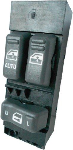 SWITCHDOCTOR Window Master Switch for 1999-2002 Chevrolet Silverado C1500 C2500 C3500 K1500 K2500 K3500 (Gray Buttons)