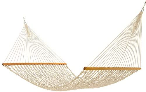 Nags Head Hammocks NH15OT Admiral Oatmeal Duracord Rope Hammock with Free Extension Chains Tree product image