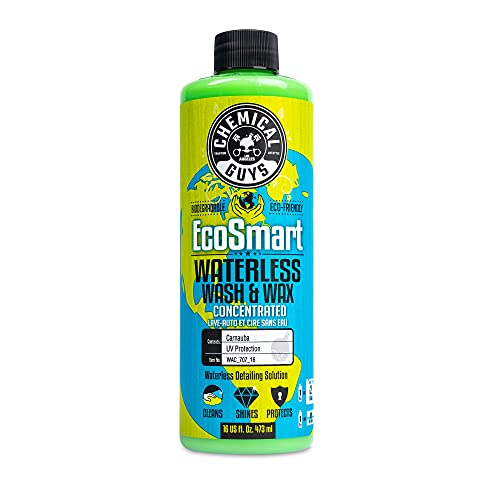 Chemical Guys WAC_707_16 EcoSmart, Hyper Concentrated Waterless Car Wash & Wax, 16 oz