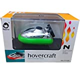 ElevenY Fashion Mini RC Hovercraft Remote Control Model Jet Boat Radio R/C Turbo Motor Classic Electric Speedboat Boy Toy - Rechargeable Electric Boat for Kids Adults Hobby Toys Presents