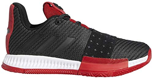 adidas Harden Vol. 3 Shoe - Junior's, Core Black-Grey-Scarlet, Size Toddler 6.5