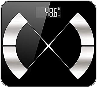 báscula de baño Báscula De Grasa Corporal Inteligente Para El Piso Báscula De Peso Corporal Electrónica Inteligente Báscula De Baño Digital De Masa Muscular Masa De Baño Digital