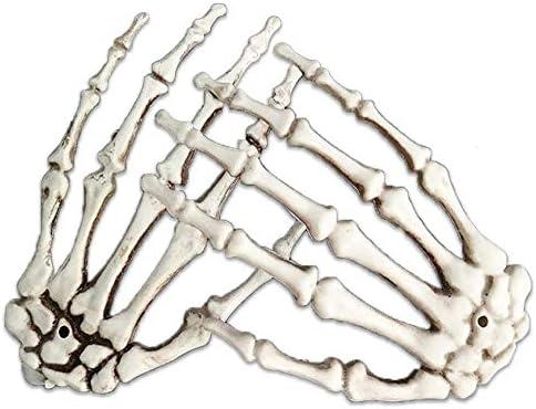 Plastic skeleton hands bulk