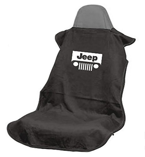 Seat Armour SA100JEPGB Black 'Jeep with Grille' Seat Protector