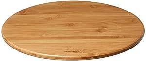 Greenco Bamboo Lazy Susan Turntable 14 Inch Diameter