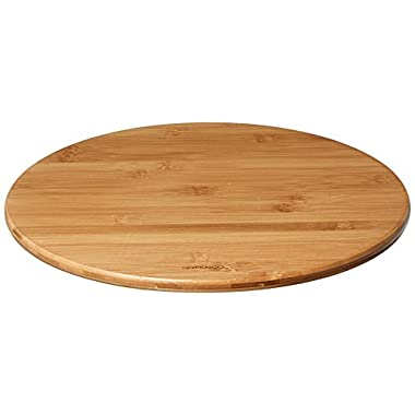 Greenco Bamboo Lazy Susan Turntable 14 Inch Diameter