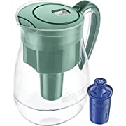 Brita Monterey Water Filter Pitcher with 1 Longlast Filter, Green, 10 Cup - 636338