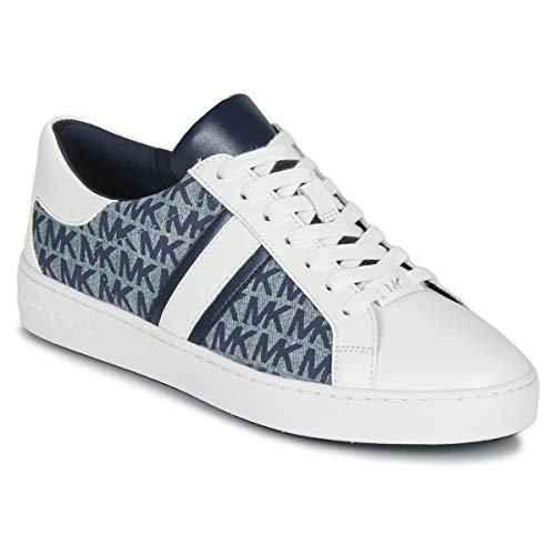 MICHAEL MICHAEL KORS KEATON STRIPE Sneakers dames Blauw Lage sneakers