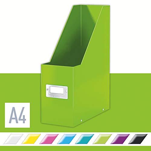 Leitz Revistero A4, Gama Click and Store, Verde, 60470054