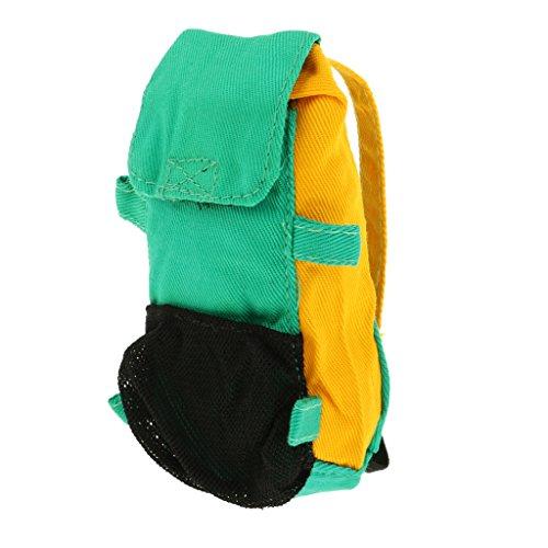 Homyl Miniatur Puppen Tasche Rucksack Schulranzen Modell Für 12 Zoll Soldaten Puppe Zubehör - # B