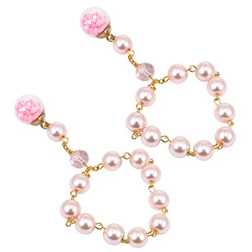 PRETYZOOM 2 pulseras de perlas de oración con rosario, rosario, ideal como regalo para niños, mujeres, niñas, Navidad, bautizo, fiesta
