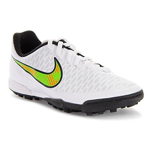 Nike Magista Ola TF - Zapatillas de fútbol para niño, color blanco y verde
