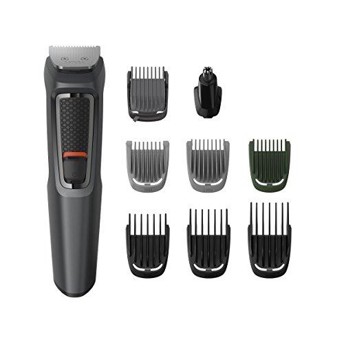 Aparador De Pelos Philips Multigroom Series 3000 Barba/Cabelo MG3748/15 Com 9 Acessórios