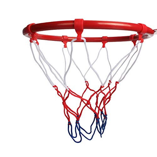Kids Basketball Hoop, Dream Travel Basketball Rim Goal Wall Mounted Basketball Hoop Indoor Outdoor Hanging Basketball Hoop, 32centimeter/12.6inch(1-Rim, 1-Net, 4-screws)