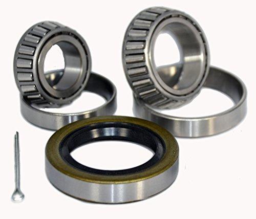 K3-100 Trailer Wheel Bearing Kit 25580/25520 15123/15245 10-36 for 5,200-6,000 lb axles
