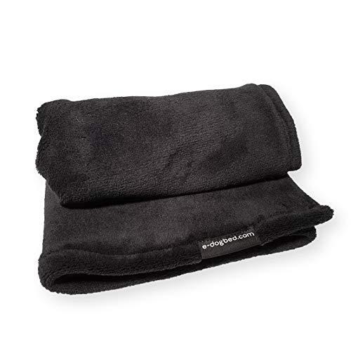 4L Textil Hundedecke Katzendecke Decke Liegedecke Haustierdecke Flauschige Kuschelige Zweiseitige Warme Weiche 70x50cm 100x70cm 150x100cm Grau Schwarz Beige Braun