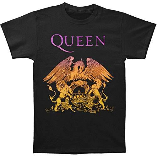 Queen Golden Crescent T-shirt for Men, Soft Cotton, S to XXL