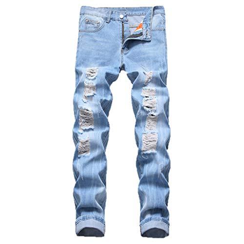 Alikey 2019 broek met zaknaad, geweven, voor mannen, casual en eenkleurig, voor heren, elastische riem, lang, katoen, joggingpak, joggingpak, meer maat, mode, sport, cargo shorts met zakken - - 32