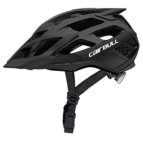 Cairbull Caschi Ciclo Casco Ciclismo con Visiera M 52-57 cm Uomo Donne Mountain Sicurezza Protezione...