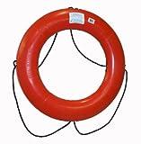 Dock Edge + Inc. USCGA Approved Commercial Life Ring Buoy, 30', Orange