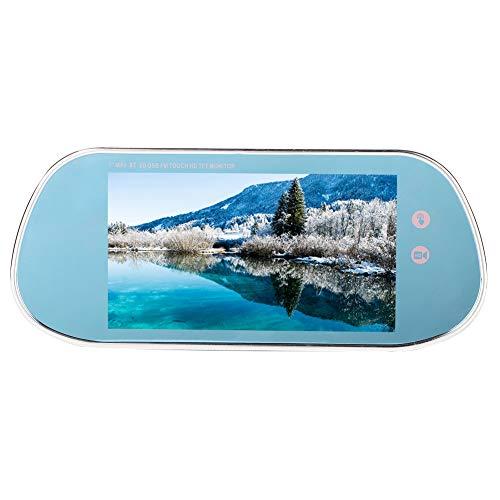 Cámara trasera de coche Pantalla táctil de 7 pulgadas Monitor retrovisor de coche USB Bluetooth MP5 Reproductor de vídeo para cámara trasera de coche