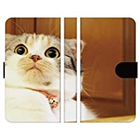 ブレインズ OPPO A54 5G OPG02 手帳型 スマホ ケース カバー NYANKO K ねこ 猫 動物 どうぶつ 写真 かわいい 人気 雑貨 グッズ ギフト