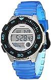 Casio Women's 10 Year Battery Quartz Resin Strap, Blue, 19.9 Casual Watch (Model: LWS-1100H-2AVCF)
