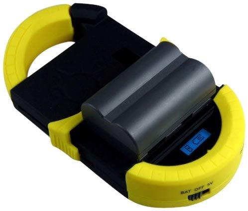 Technaxx Powerbank TE-23 Universal Solarladegerät schwarz/gelb