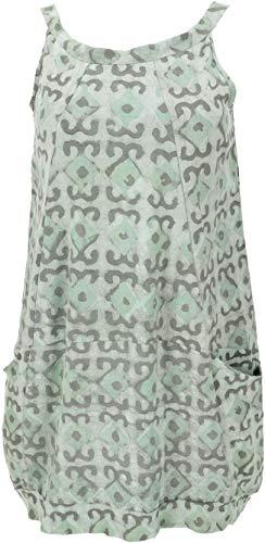 Guru-Boutique, Mini Robe, Tunique D`été, Cintre, Aqua, Lecoton, Size:L (42), Des Robes Courtes