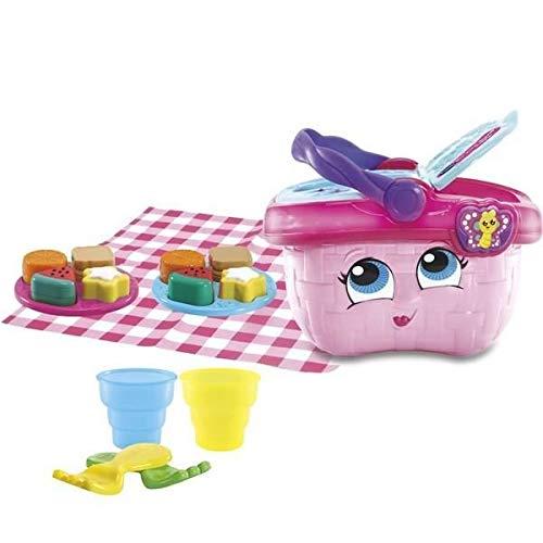 Vtech – Mein Picknickkorb, magisch, Spielzeug für Nachbildung, Dinette – französische Version