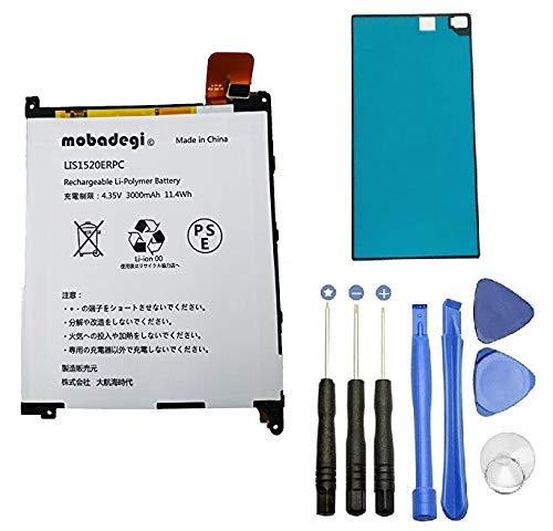 【mobadegi】Xperia Z ultra互換バッテリー 修理用キッド LIS1520ERPC